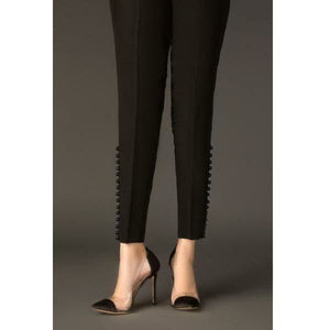 BAROQUE - DESIGN 54 | Black Bottom Women's Trouser