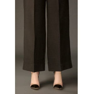 BAROQUE - DESIGN 53 | Black Bell Bottom Women's Trouser