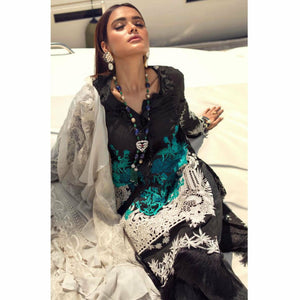 Sana Safinaz Luxury Lawn 2020 - 09A - House of Faiza
