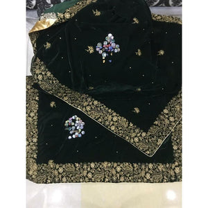 NEW VELVET SHAWLS | A-06 | WINTER WRAPS - House of Faiza