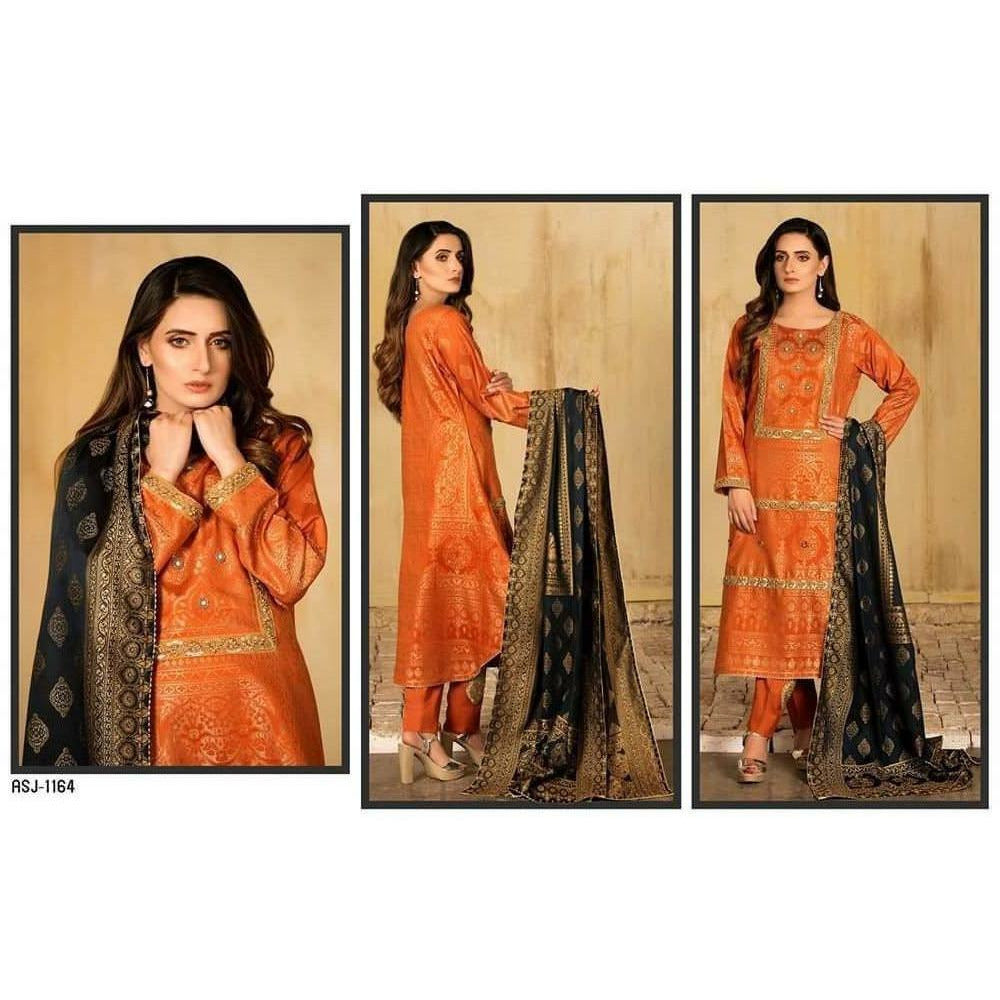 Banarsi By MJ Textiles Jacquard Lawn 20 - Design 1164 - House of Faiza