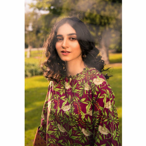 Sapphire | Lawn Vol 2 | 2 Piece | Aves - House of Faiza