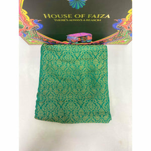 HOF | UNSTITCHED EMBROIDERED CHIFFON | 09 - House of Faiza
