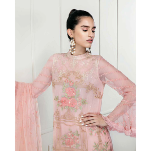 Chimmer by Charizma Embroidered Bamber Chiffon Collection Vol 2 - Quintessential Drape CM-13