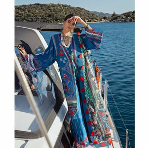 Republic Womenswear | Selene Luxury Lawn 21 | D12-B (Maysa) - House of Faiza