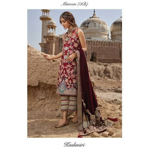 Crimson |  Luxe by Saira Shakira 19 | D3-B - House of Faiza
