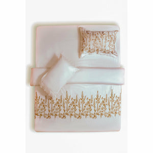 Sapphire | Luxury Bed Set | Pearl