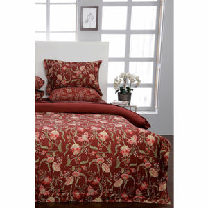 Sapphire | Printed Bed Set | Floral Fiesta