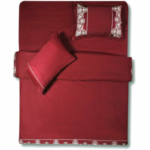 Sapphire | Luxury Bed Set | Tea Berry - House of Faiza