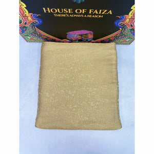 HOF | UNSTITCHED EMBROIDERED KHADDI | 05 - House of Faiza