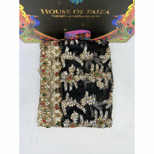 HOF | UNSTITCHED EMBROIDERED CHIFFON | 01 - House of Faiza