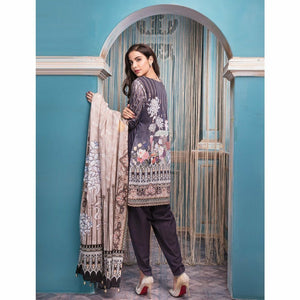 Khas Lawn Collection 2018 - Vol 4 - INDIGO DIARIES KL-4028