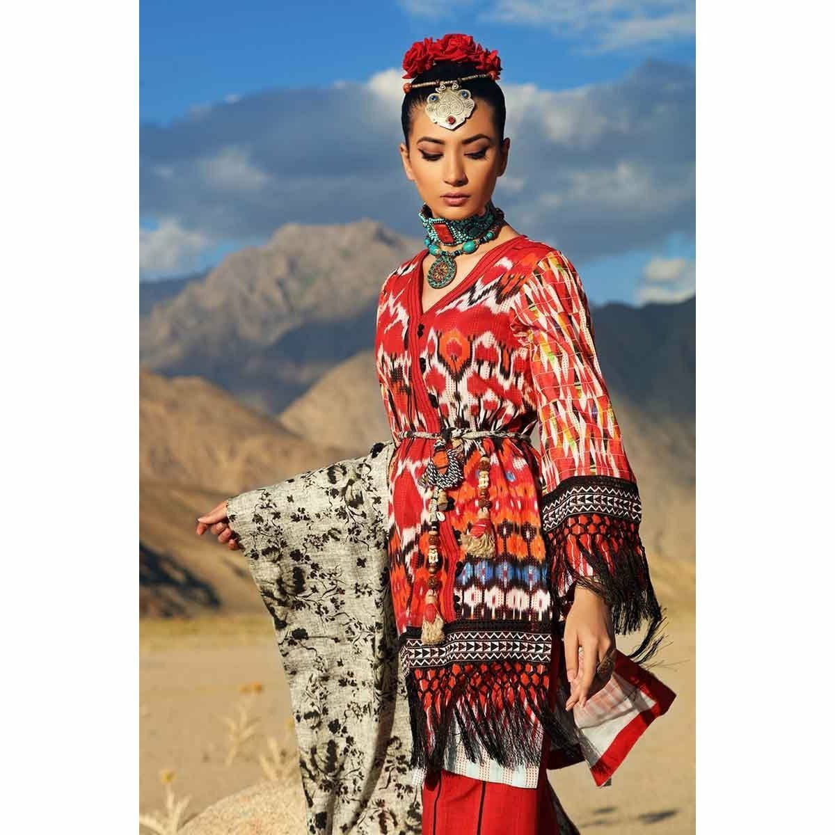 Gul Ahmed Craft Winter Collection 19 – K-62
