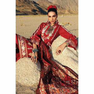 Gul Ahmed Craft Winter Collection 19 – K-71