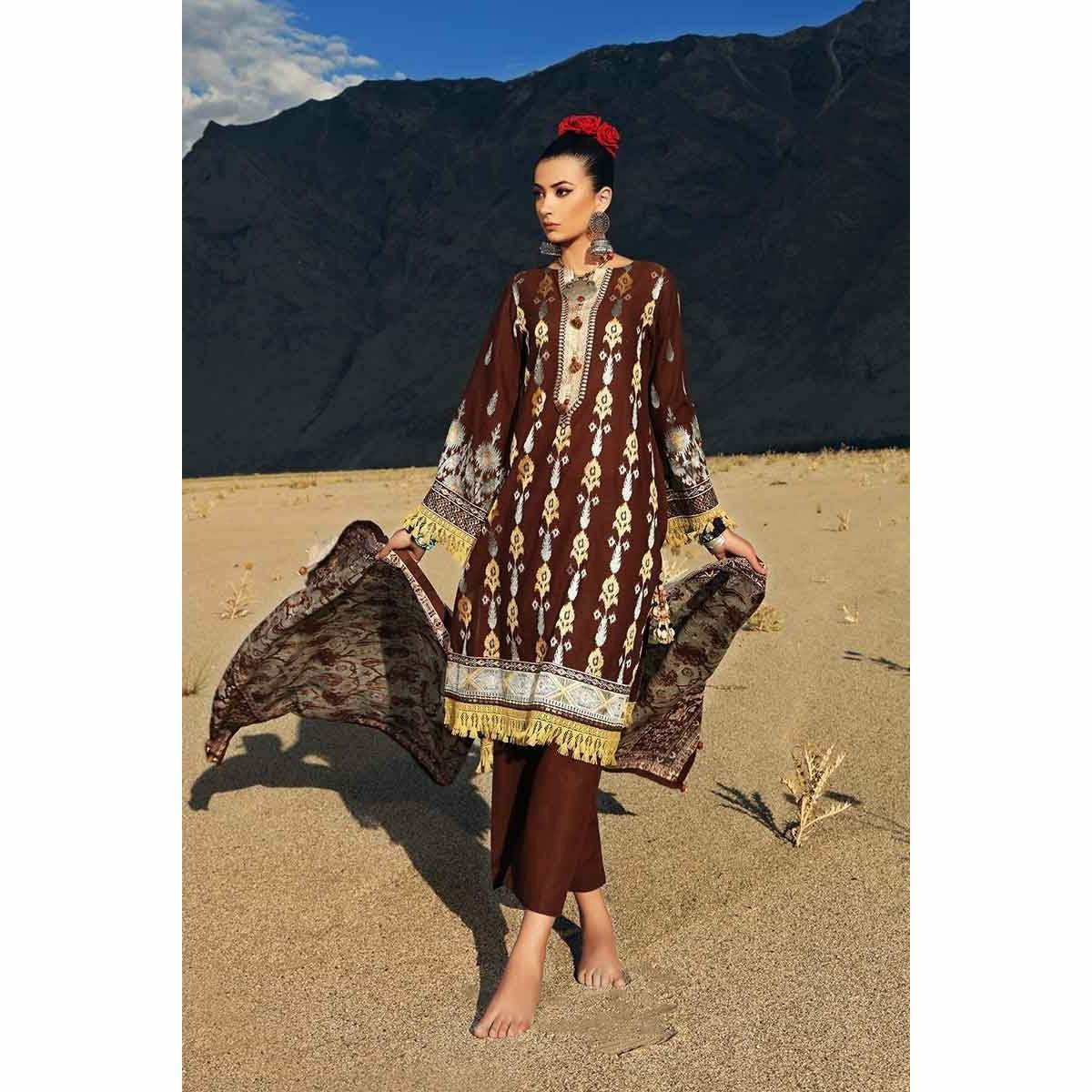 Gul Ahmed Craft Winter Collection 19 – K-72