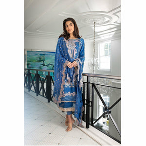Sobia Nazir | Luxury Lawn 2021 | Design 06A - House of Faiza