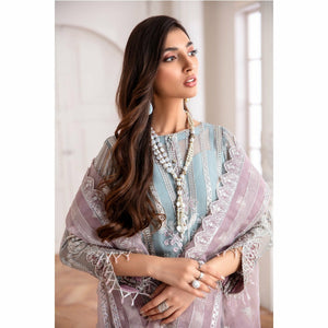 Mahpare Luxury Chiffon Collection 20 | Liana - Frock Version - House of Faiza