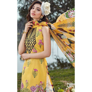 Asifa and Nabeel | Luxury Lawn SS20 | 22-B SPRING BLOSSOM - House of Faiza