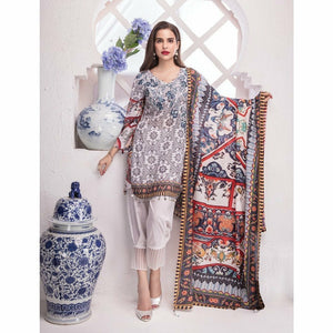 Khas Lawn Collection 2018 - Vol 4 - MOSCOW NOMADS KL-4032