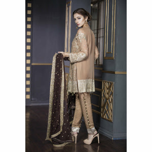 Maryum N Maria Chiffon Collection | Caramel Brown - FMM-206