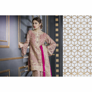 Maryum N Maria Chiffon Collection | Aster Pink - FMM-208
