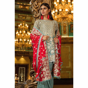 Maryum N Maria Embroidered Chiffon Collection | ICY TREAT MMB-205