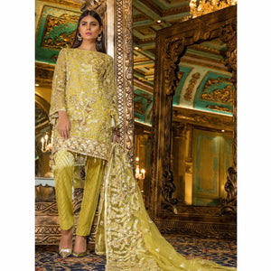 Maryum N Maria Embroidered Chiffon Collection | IMPERIAL GLOW MMB-210