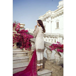 IMROZIA PREMIUM - 02 The Fair Maiden | Embroidered Fully Stitched Women's Suit