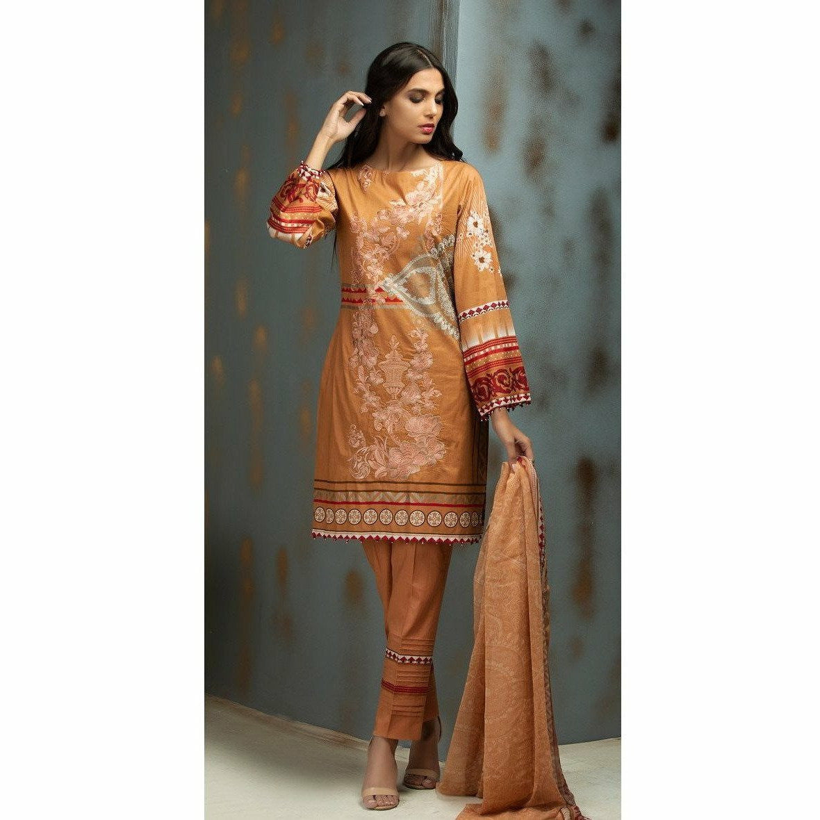 1195ca93bf99 Salitex Ribs Cambric Pakistani Designer Clothes