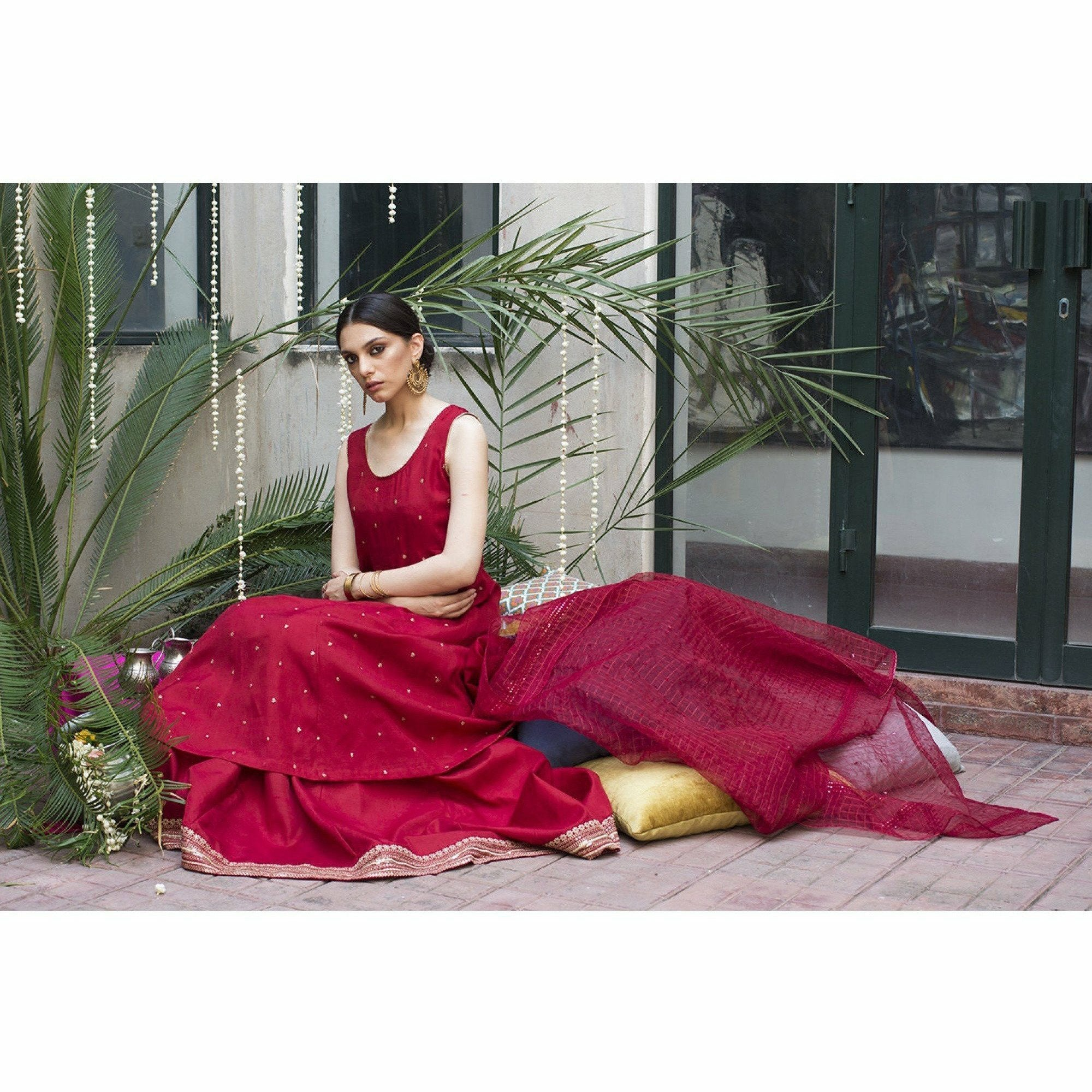 DYOT Resham - Red Outfit