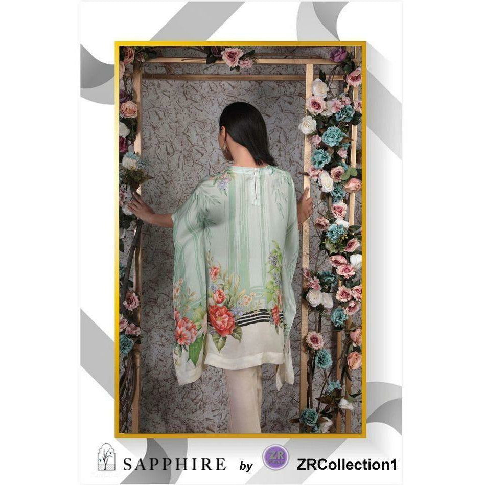 Sapphire By ZR Charmeuse Silk Collection - Design 04