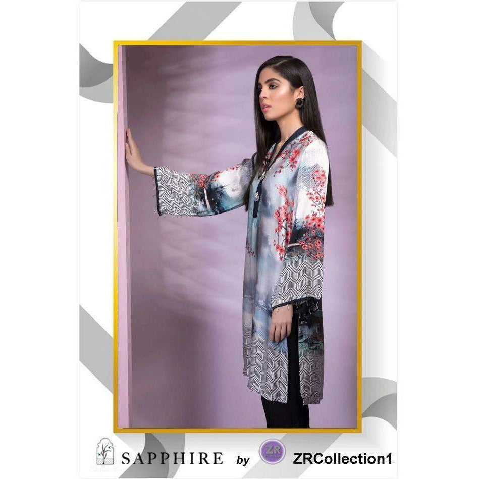 Sapphire By ZR Charmeuse Silk Collection - Design 05