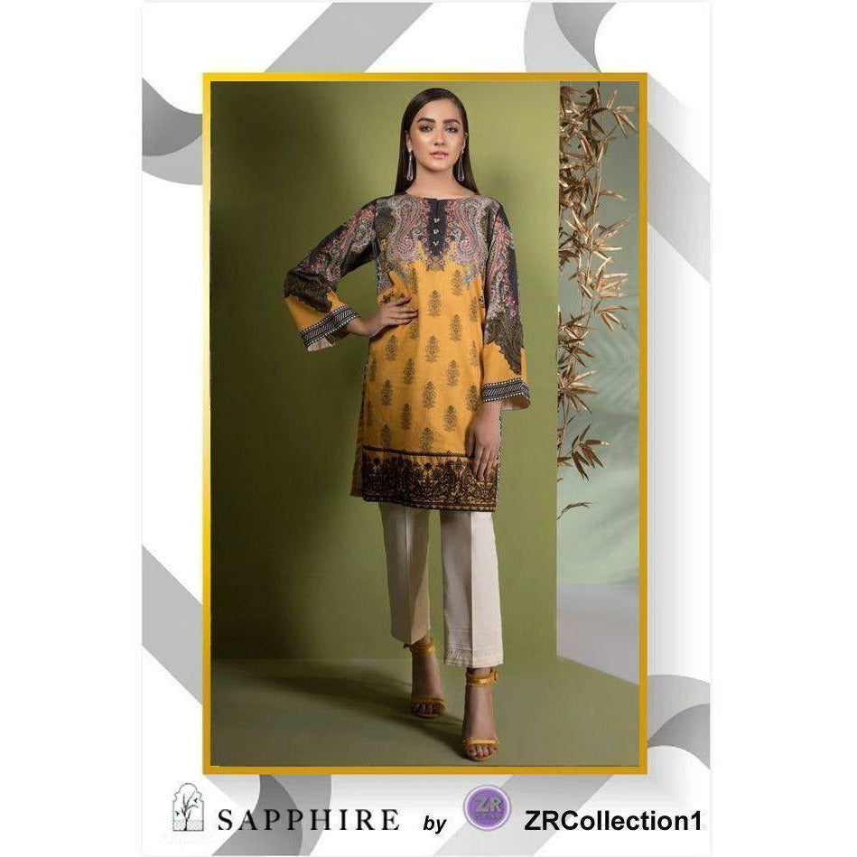 Sapphire By ZR Charmeuse Silk Collection - Design 07