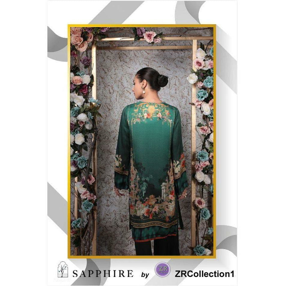 Sapphire By ZR Charmeuse Silk Collection - Design 08