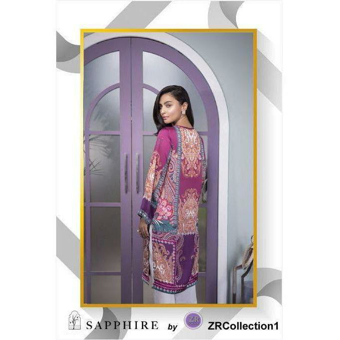 Sapphire By ZR Charmeuse Silk Collection - Design 10