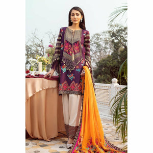 CHARIZMA SIGNATURE LAWN COLLECTION EMBROIDERED 20 - 04 - House of Faiza