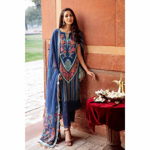 CHARIZMA SIGNATURE LAWN COLLECTION EMBROIDERED 20 - 08 - House of Faiza