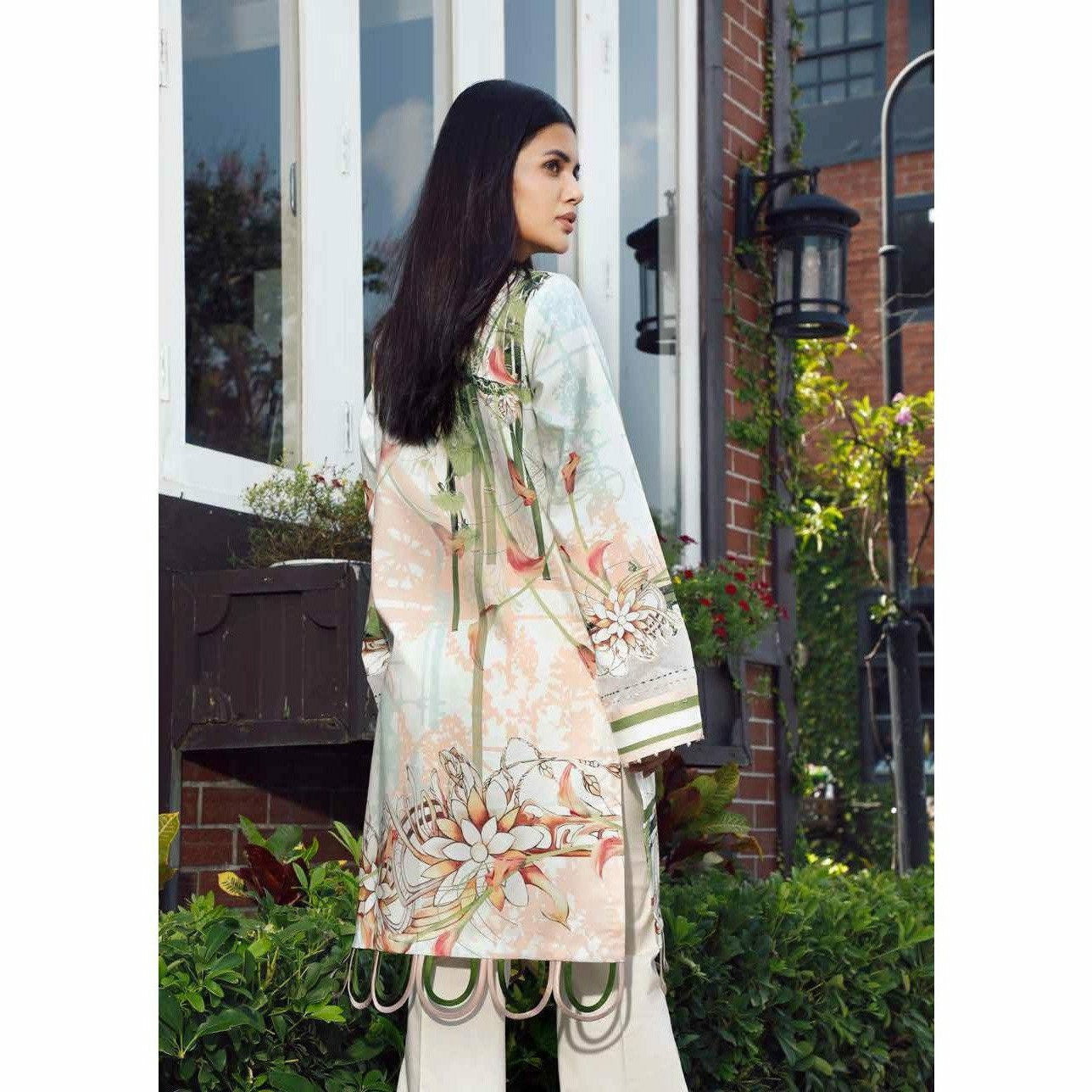Firdous Solitaire Digital Embroidered 20 - CK19382