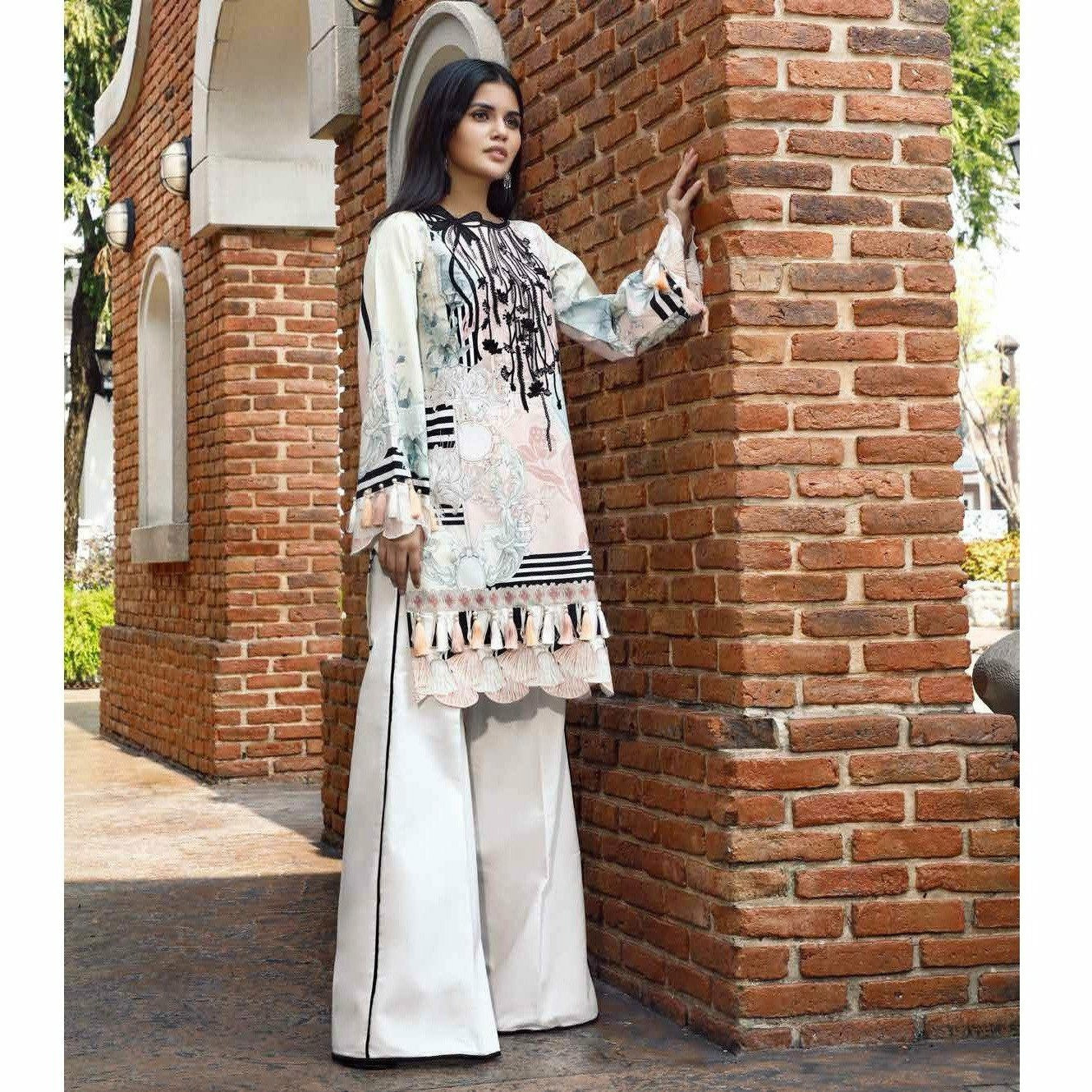 Firdous Solitaire Digital Embroidered 20 - CK19381