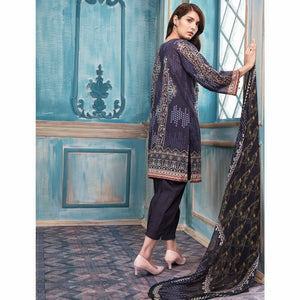 Khas Lawn Collection 2018 - Vol 4 - TURKISH BUKHARA KC-5029