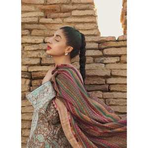 Tena Durrani | Premium Luxury Lawn 21 | Travertine - House of Faiza