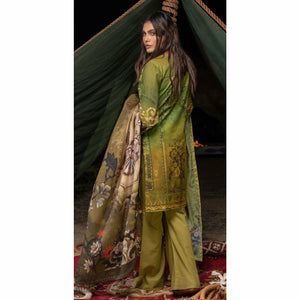 Digital Printed Khaddar | 3pc (WK-192)