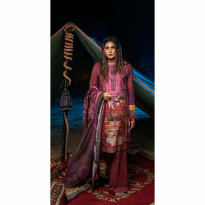 Digital Printed Khaddar | 3pc (WK-193)