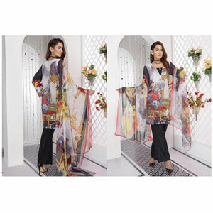 Eshaisha Embroidered Lawn Collection DESIGN 12