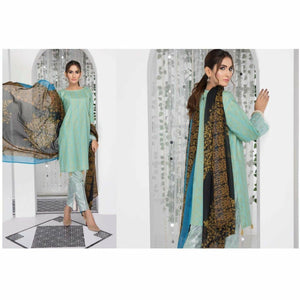 Eshaisha Embroidered Lawn Collection DESIGN 14