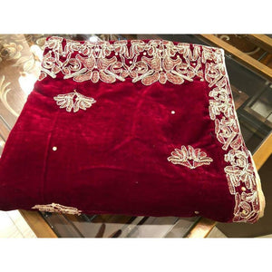 VELVET SHAWLS | A-01 | WINTER WRAPS - House of Faiza