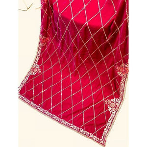 MAYA ALI EMBROIDERED SHAWL | A-04 | WINTER WRAPS - House of Faiza