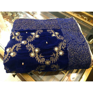 VELVET SHAWLS | A-08 | WINTER WRAPS - House of Faiza