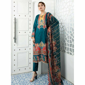 Zebaish Abroo Digital Linen 2020 - Z01