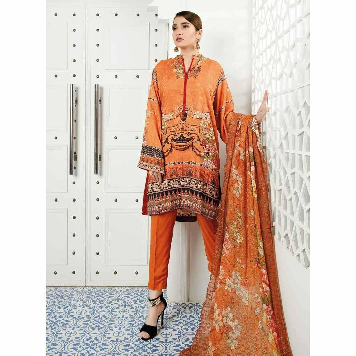 Zebaish Abroo Digital Linen 2020 - Z07